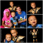 Power Ranger Family Halloween Costumes
