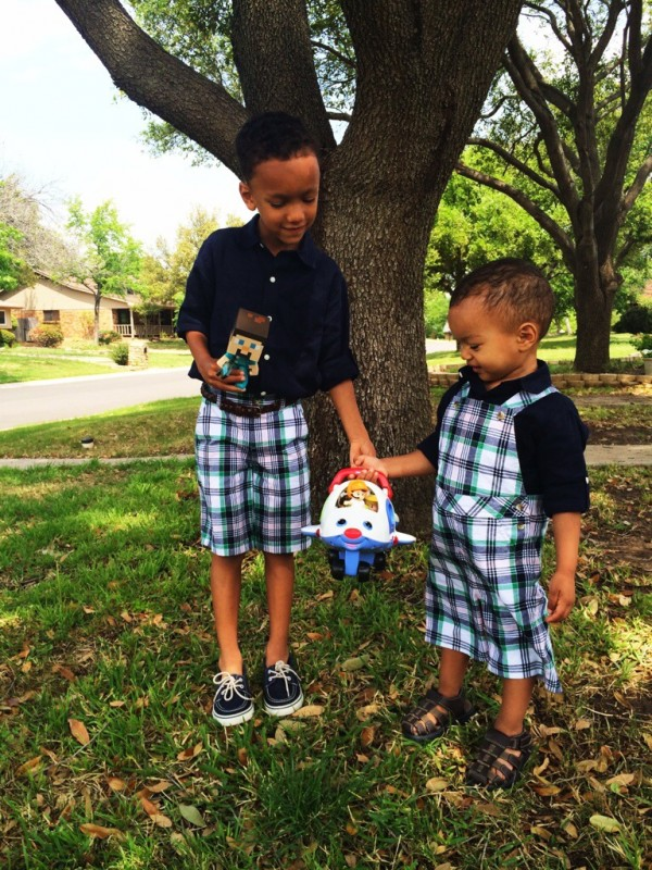 Family Easter Outfits: Janie and Jack boys