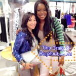 CharmedValerie & Bag Snob Tina Craig at H&M Galleria Dallas