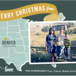 Holiday Map Photo Card by Minted.com