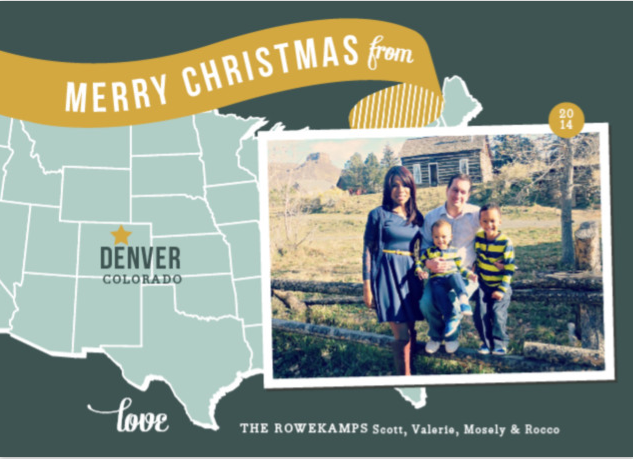 Chic Holiday Photo Card Ideas from Minted.com