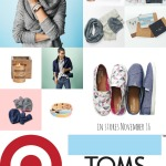 #TOMSforTarget for every gift you buy, they're giving shoes, blankets, & meals to people in need.