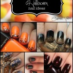 easy & chic Halloween nail ideas