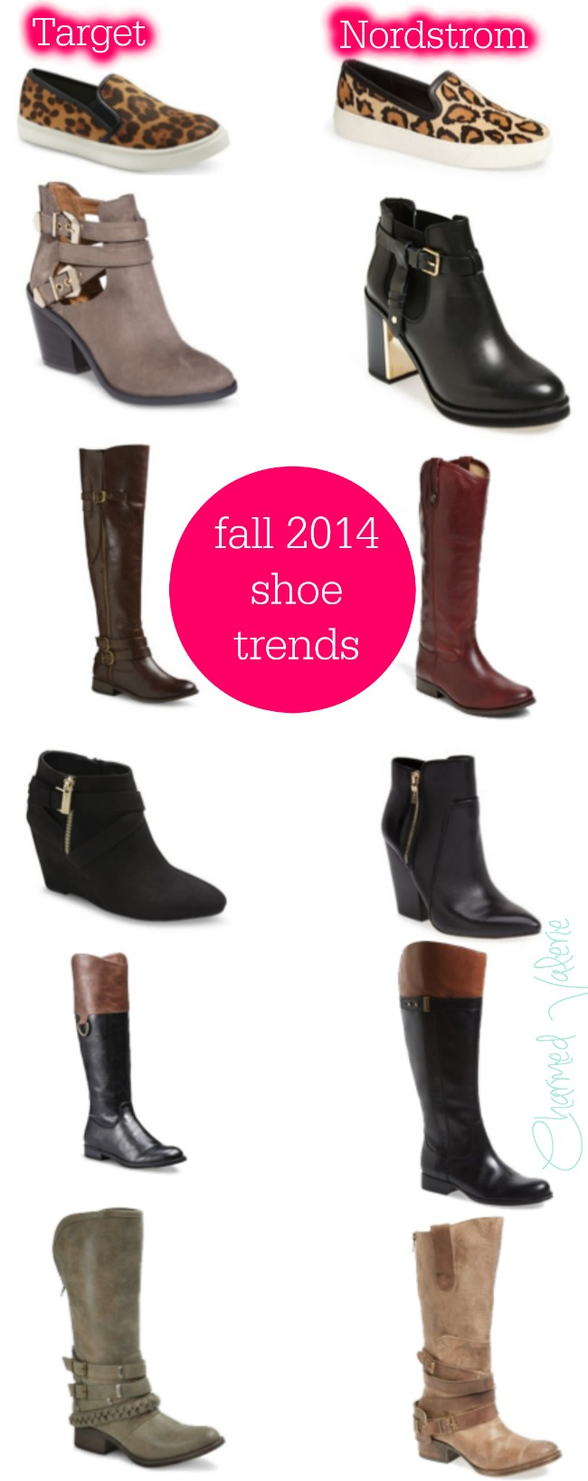 fall 2014 shoe trends Target vs Nordstrom