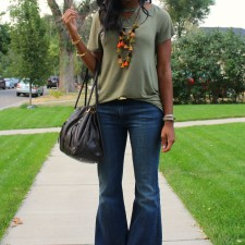 Flare Jeans are Back In Style for Fall 2015