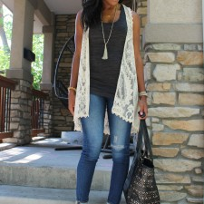 Summer to Fall Transition Outfit