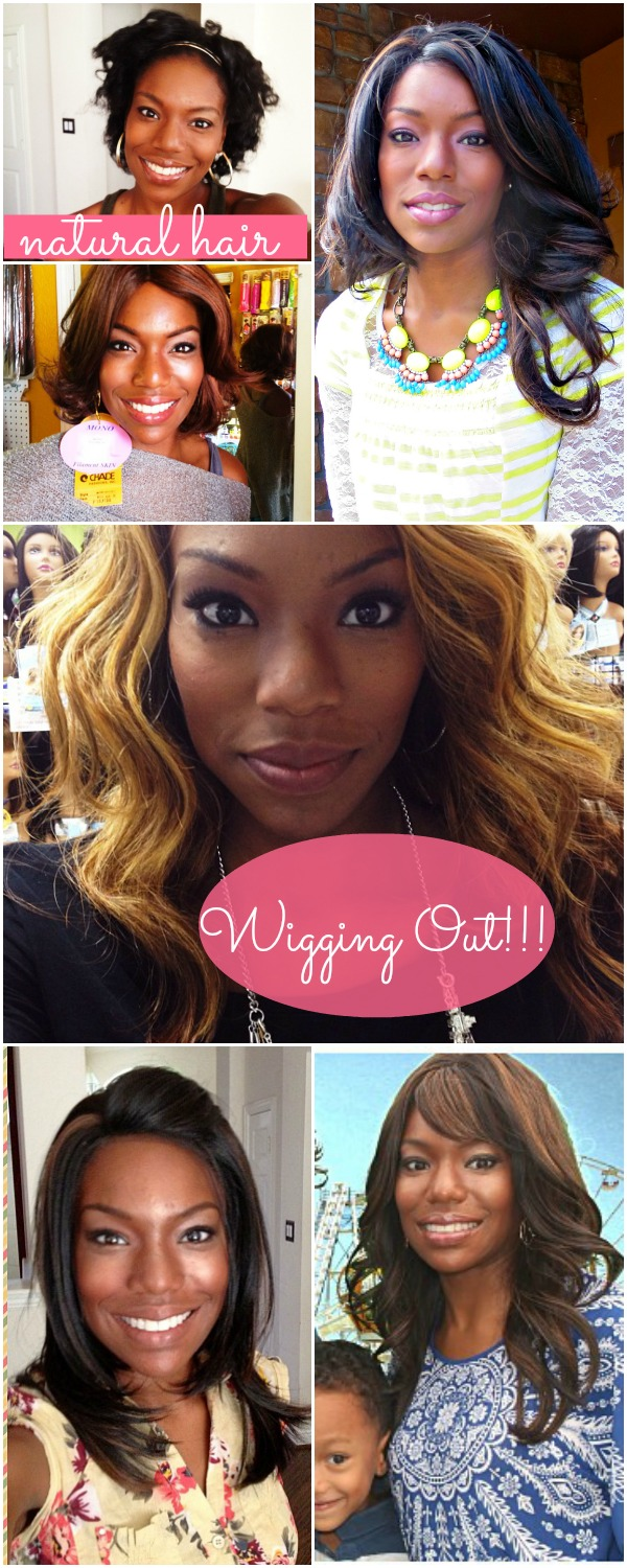 Wearing Wigs with Natural Hair // Part 3 of my Hair Story
