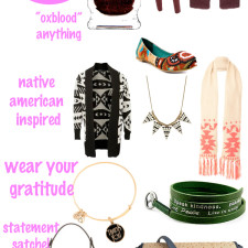 What Your Wardrobe Needs This November 2012
